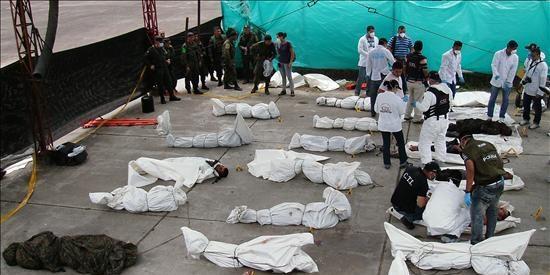 Ascienden a 27 los guerrilleros de las FARC muertos en un operativo en Colombia