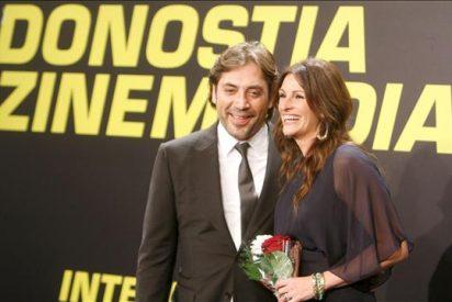 """Julia Roberts, """"una chica con suerte"""", agradece """"de corazón"""" el Premio Donostia"""
