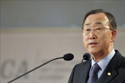 Ban ki-moon se entrevista con Peres en vísperas de la reunión del Cuarteto