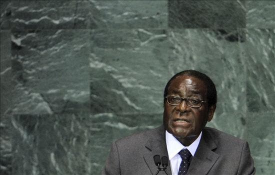 Mugabe afirma que las sanciones impidieron un mayor desarrollo de Zimbabue