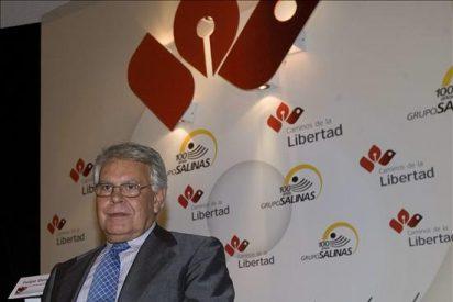"""Felipe González recibe en México el premio """"Una vida por la libertad"""""""
