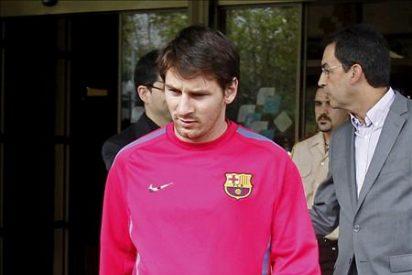 Messi inicia el trabajo de campo con sesiones de carrera continua