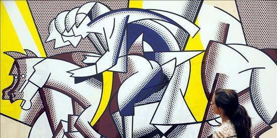 Nueva York muestra la cara más desconocida del artista pop Roy Lichtenstein