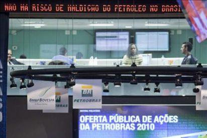 La capitalización Petrobras convierte a la bolsa de Sao Paulo en la segunda del mundo