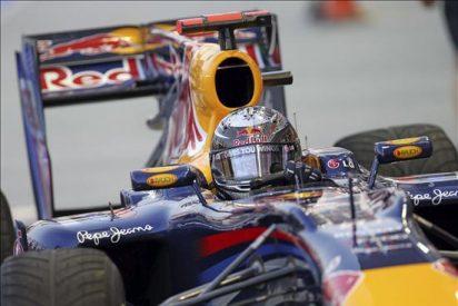 Vettel marca el mejor tiempo en los entrenamientos de Singapur, con Alonso cuarto