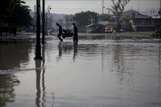 Al menos cinco muertos por fuertes lluvias en Haití