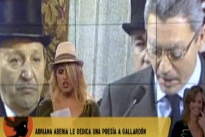 """""""Sálvame"""" entra en campaña con un ridícula parodia de Gallardón"""