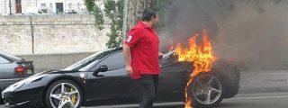 Ferrari llama a revisión a 1.248 unidades del 458 Italia tras cinco casos de incendio