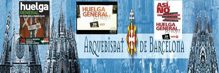 Pastoral Obrera de Barcelona se suma a la huelga general