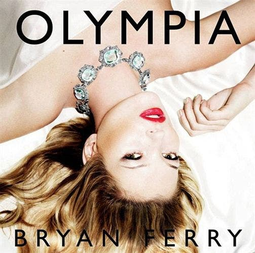 Kate Moss portada del disco de Bryan Ferry