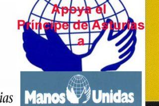 El Príncipe de Asturias reclama a Manos Unidas