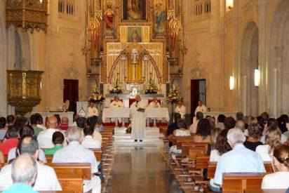 Osoro oficia una misa de inicio de curso en las Escuelas Profesionales Luis Amigó