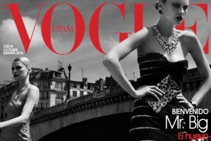 Vogue: Elena Melnik fotografiada por Víctor Demarchelier en una portada única