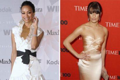 Zoe Saldana y Lea Michele las mejor vestidas seguidas de Rihanna