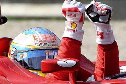 Alonso recupera el aliento