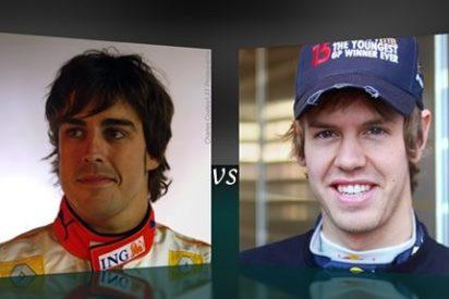 Fernando Alonso gana el GP de Fórmula 1 de Singapur en un apasionante duelo con Sebastian Vettel