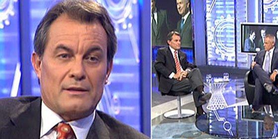 """Artur Mas: """"No me hablo con Zapatero desde hace dos años"""""""