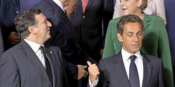 Bronca entre Sarkozy y Barroso sobre las expulsiones de gitanos
