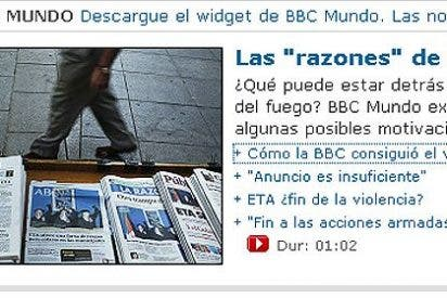 Terrorismo y periodismo, ETA y BBC