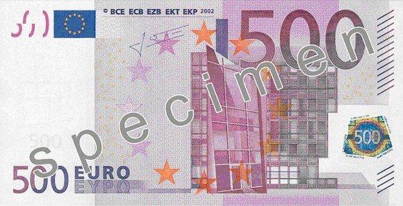 ¿Qué ocurre si escaneas un billete de 500 euros y tratas de retocarlo en Photoshop? Prueba y verás