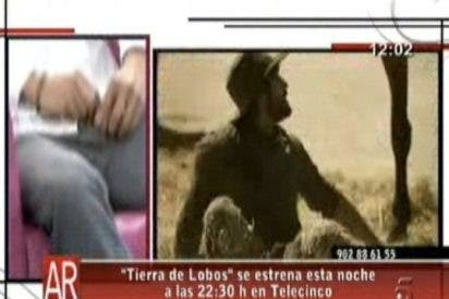 """El protagonista de """"Tierra de lobos"""" habla con Ana Rosa con la bragueta abierta"""