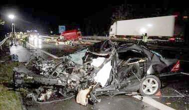 Mueren 30 personas en accidentes durante las fiestas del bicentenario en Chile