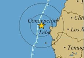 Un sismo de 6,1 grados Richter remeció el centro de Chile