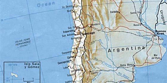 Sismo de 5,6 grados Richter remeció esta madrugada el sur de Chile