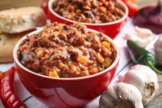Chili con carne, receta mexicana