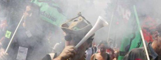 1.100.000 personas salen a la calle en Francia contra la reforma de las pensiones según el Ministerio de Interior
