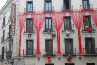 """IADE viste la fachada del Hotel Vincci Soho para la feria """"Decoracción"""" de Madrid"""