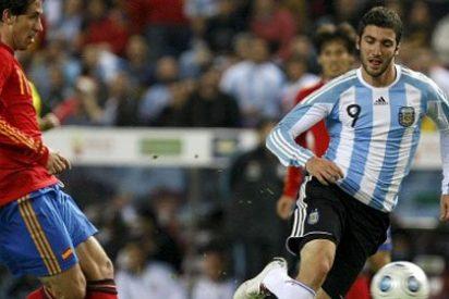 Argentina se ceba con la campeona (4-1)