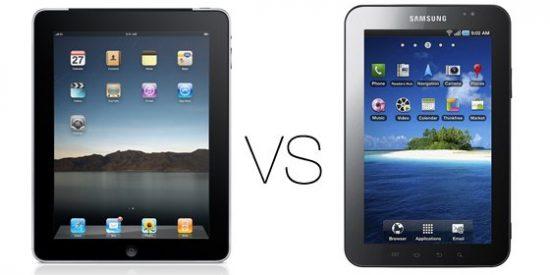 Samsung Galaxy Tab vs iPad, ¿Ha encontrado Apple su primer competidor serio en las tabletas?