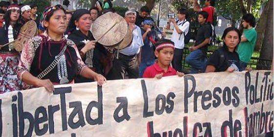 Los indios mapuche en huelga de hambre dan un ultimátum al Gobierno de Chile