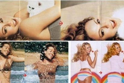 Los jeques del Photoshop de Arabia Saudí 'visten' a Mariah Carey