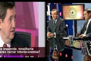 """Intereconomía TV domina claramente a VEO7 en la """"batalla por el prime time político"""""""