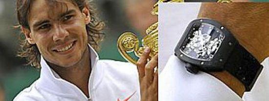 Nadal sufre el robo de un reloj de 300.000 euros