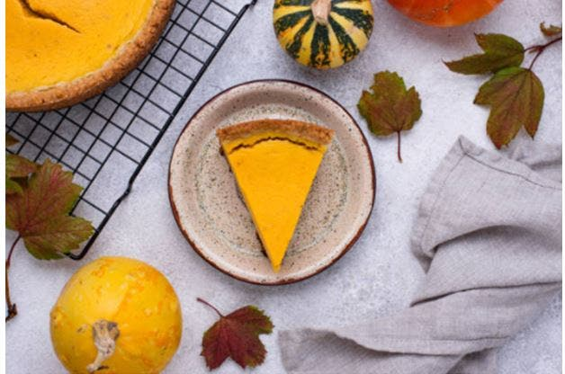 Tarta de calabaza fácil para Halloween