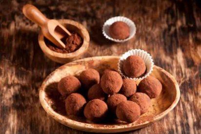 Trufas de chocolate, receta fácil