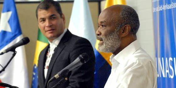 Unasur acuerda plan de acción para reconstrucción de Haití