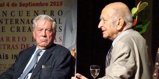 """Vargas Llosa considera que el intercambio cultural entre Perú y España es """"escaso"""""""