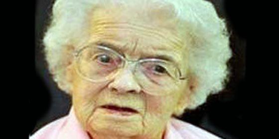 Anciana revela que ha llegado a los 106 años gracias a vida célibe