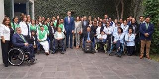 Los Reyes de España conocen el programa Fundades de la filial americana de Eurofinsa, IBT Group
