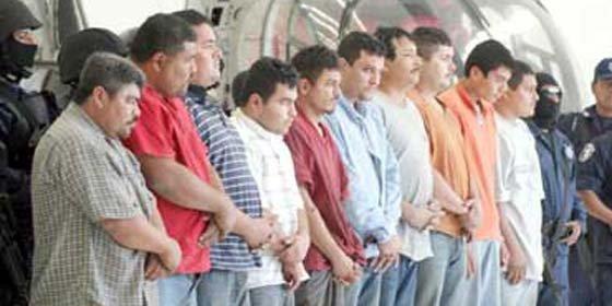 Narcos mexicanos y guatemaltecos participaron en matanza de 11 de sus rivales