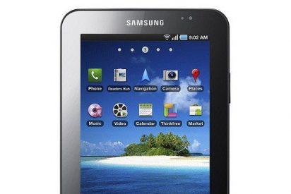 """La tableta Samsung Galaxy Tab sale en Rumanía con un botón llamado """"Porn."""""""