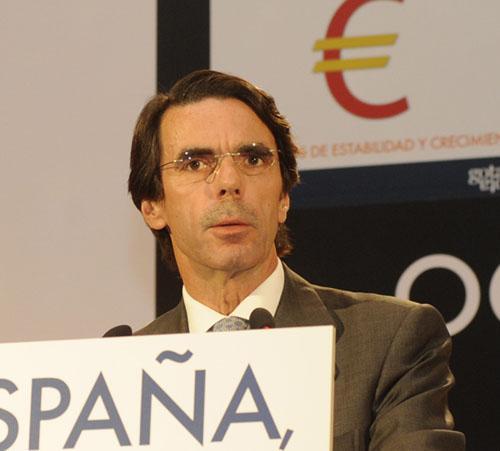 Aznar: España está peor que tras los gobiernos de Felipe González