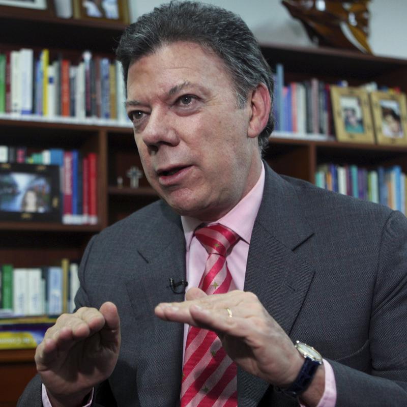 Santos espera restablecer relaciones con Venezuela y Ecuador este año
