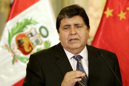 Alan García niega la supuesta agresión a un joven