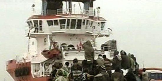 Rescatan una patera con once magrebíes a bordo, todos adultos, al suroeste de Cabo de Gata