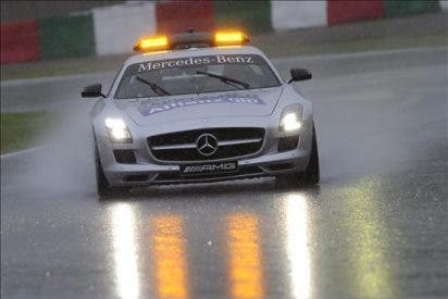 Jornada perdida por la lluvia en el Gran Premio de Japón que aplaza la sesión de clasificación a mañana